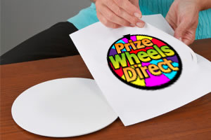 "Stickers for 12-24 Slot Adaptable 31"" Table Top Prize Wheel"