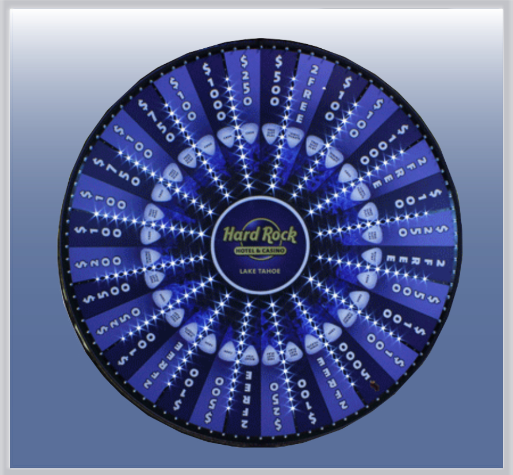 Lighted Prize Wheel