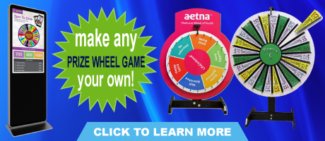 Prize Wheel Store - Branding Options Available