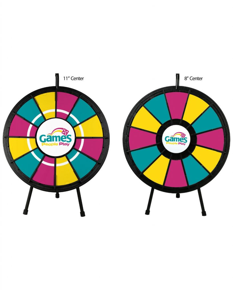 11 inch Center Plate - Prize Wheel Store