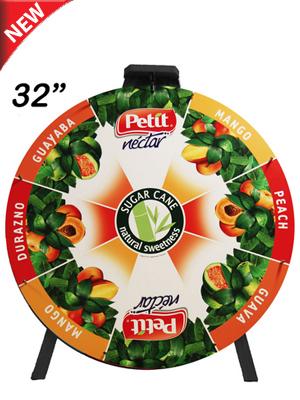 "32"" Custom Printed Prize Wheel - Prize Wheels Direct"