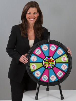 Mini Prize Wheel - Sample