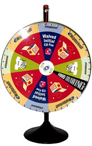 Prize Wheel - CUSTOM - Style 6