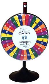 Prize Wheel - CUSTOM - Style 3