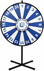 Custom Prize Wheels - Branded Prize Wheel