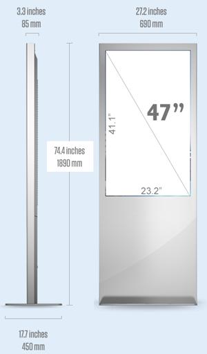 "47"" Interactive Display - sample"