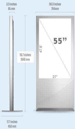 "55"" Interactive Display - sample"
