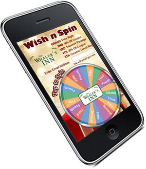 Digital Prize Wheel - iphone